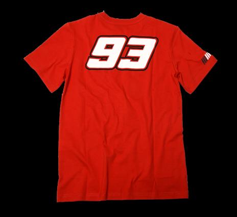 Pánské tričko Marc Marquez - červené