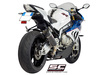 Slip-on Conic carbon BMW S 1000 RR 2015 - 2016