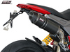 Slip-on Oval Carbon Ducati Hypermotard 821 2013 - 2016