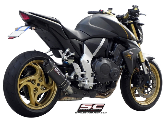 Slip-on Oval carbon Honda CB 1000 R