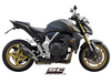 Slip-on Oval Carbon Honda CB 1000 R 2011 - 2017