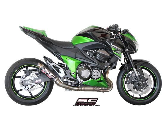 Slip-on GP M2 Carbon Kawasaki Z 800 e 2012 - 2016