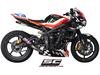 Full system 3-1 GP M2 Carbon Triumph Street Triple 675 / R 2007 - 2012