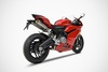 2-1-2 racing full system Ducati 959 Panigale