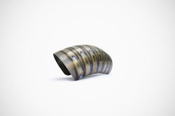 Titanium intake cover BMW R NINE-T 1200