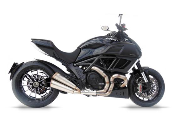 Carbon špička výfuku ZARD Ducati Diavel