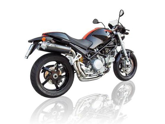2-2 výfukový systém HM Ducati Monster S2R 1000 2004 - 2007