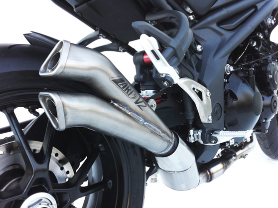 Výfuk V2 Triumph Speed Triple 1050 2007 - 2010