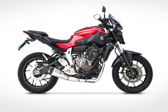 Zard 2-1 Full Kit Racing Yamaha MT-07