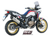 Slip-on Adventure titanium Honda CRF 1000 L Africa Twin