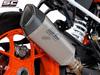 Slip-on SC1-R Titanium KTM SuperDuke R 2017 - 2019