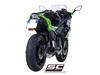 Full system 2-1 SC1-R titanium Kawasaki Ninja 650 2017 - 2018