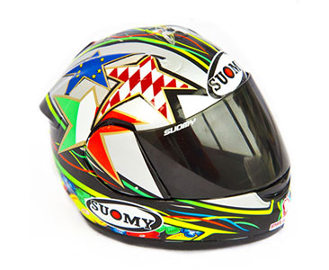 Model helmy SUOMY Loris Capirossi 2011