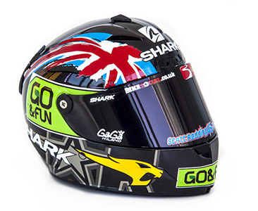 Model helmy SHARK Scott Redding 2014