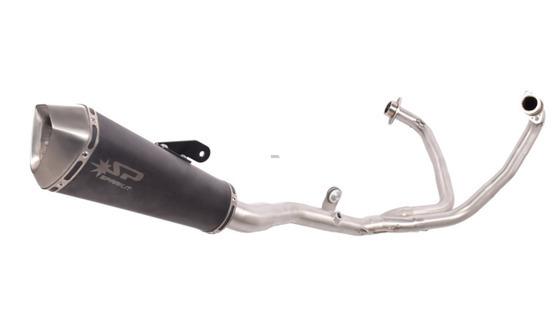 Závodní nerez/titanový výfukový systém KONIX Yamaha YZF-R3 2015 - 2018 Yamaha YZF-R3 2015 - 2018