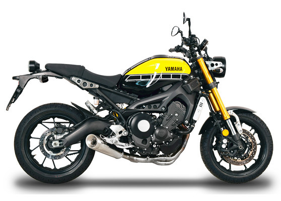 Nerezová koncovka EVO V up Yamaha XSR 900 2016 - 2018