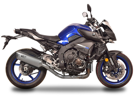 Racing titanový 3/4 kit koncovky FORCE 350mm Yamaha MT-10 2016, 2018