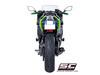 Full system 2-1 SC1-R Titanium Kawasaki Ninja 650 2017 - 2019
