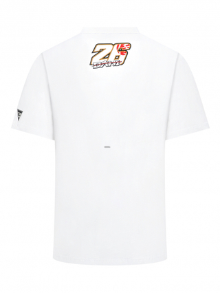 Pánské tričko Dani Pedrosa Red Sun 2019 - bílé