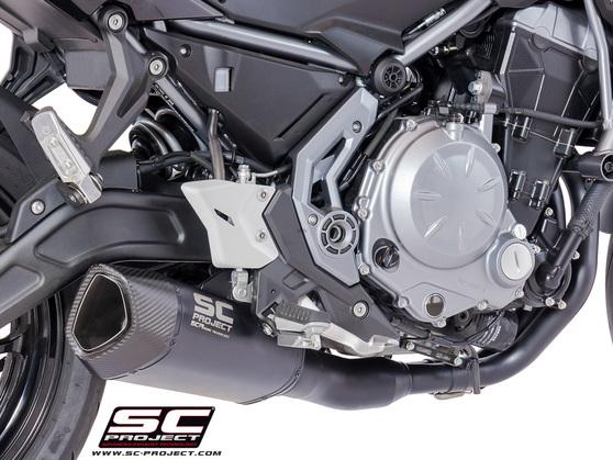Full system 2-1 SC1-R Titanium Black Kawasaki Ninja 650 2017 - 2019