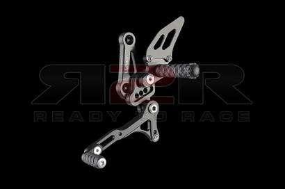 Nastavitelné přepákování - SET (stupačky nesklopné) Ducati Streetfighter 848 2009 - 2012