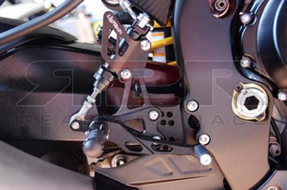 Nastavitelné přepákování - SET (stupačky nesklopné) Suzuki GSX-R 1000 2009 - 2014