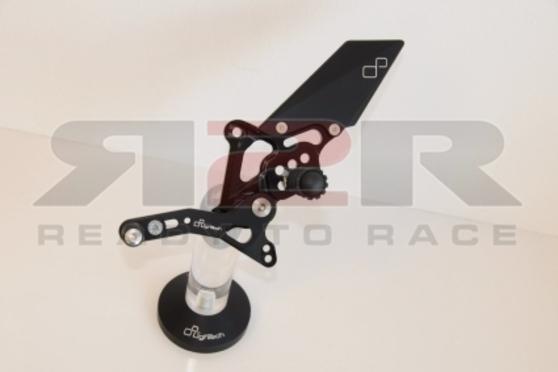 Nastavitelné přepákování - SET (stupačky nesklopné) Ducati 1098 2007 - 2011