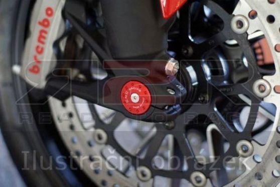 Zátka osy předního kola DX Ducati 1198S 2009 - 2011