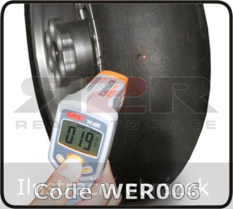 Infračervený měřící přístroj teploty pneumatik
