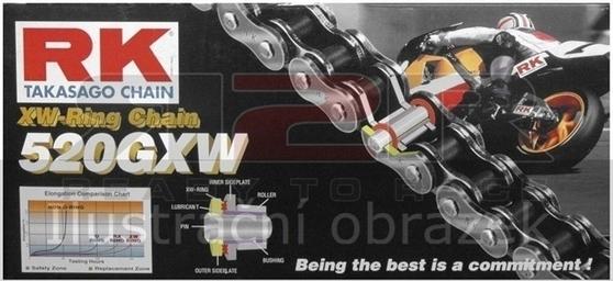 RK 520 GXW řetez - 120 článků